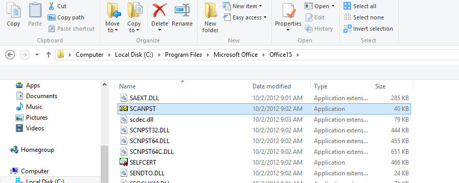 Fix Outlook.ost is not a personal folders