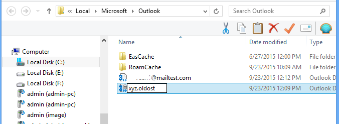 Fix Outlook.ost is not a personal folders Error