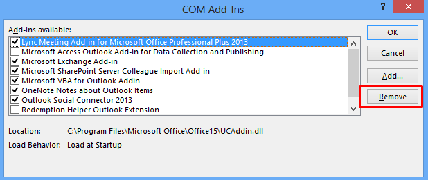 Outlook.pst is in use and can not be accessed in 2013