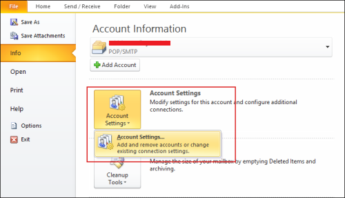 unlock outlook PST file