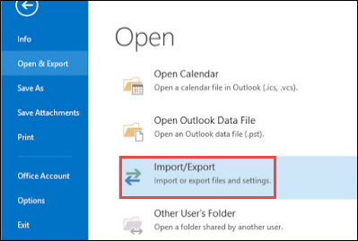 How to Transfer Windows Live Mail to Outlook 2016