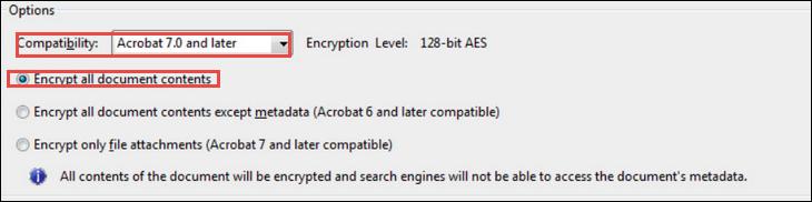 2: Encrypt PDF in Microsoft Outlook