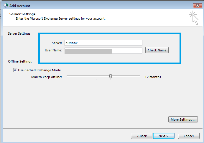Exchange Server Configuration