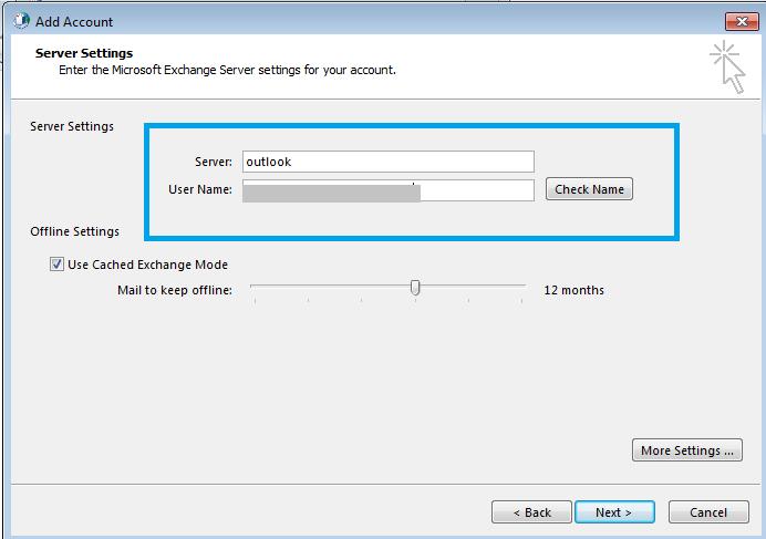 Exchange Server Configuration
