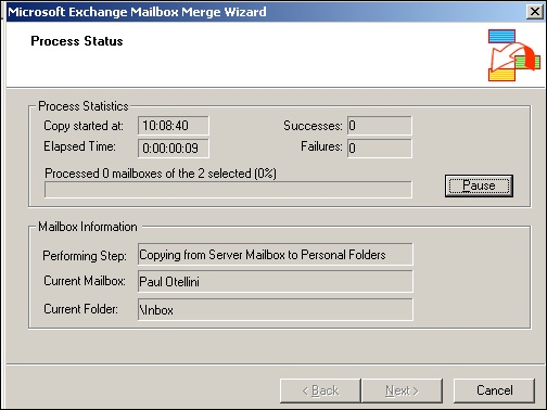 Export Mailboxes Using Exmerge In Exchange 2003 - Database