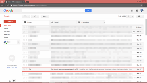 Print Multiple Gmail emails to PDF