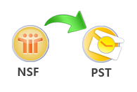 Convert NSF Archive to PST