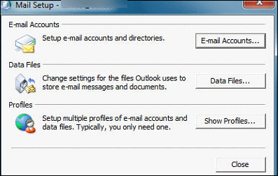 Mail Setup for Oulook 2007 to MS Office 365
