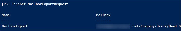 Convert Exchange Mailbox  to PST