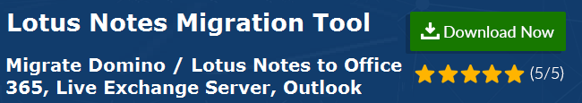 Lotus Notes Email Migration to Other Clients