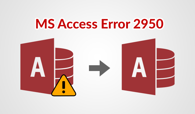 Microsoft Access Database Error 2950