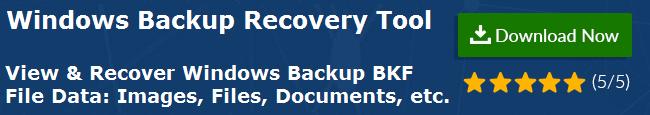 Repair Corrupt BKF File: MS Backup (.bkf) Error Recovery
