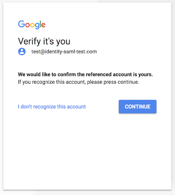 New Google Account Verification Feature