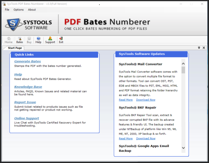Step 1: Adding Custom Page Numbers to PDF File