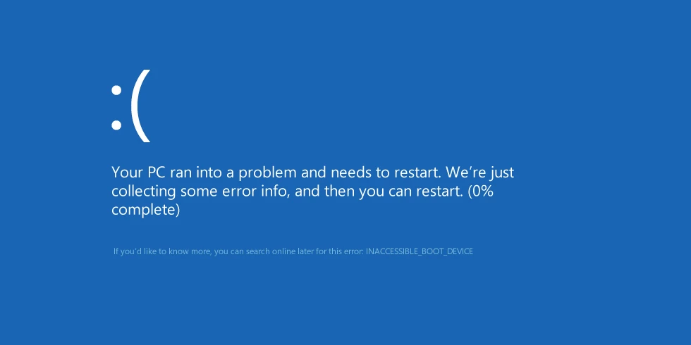 BSOD Error in Windows 8, 10