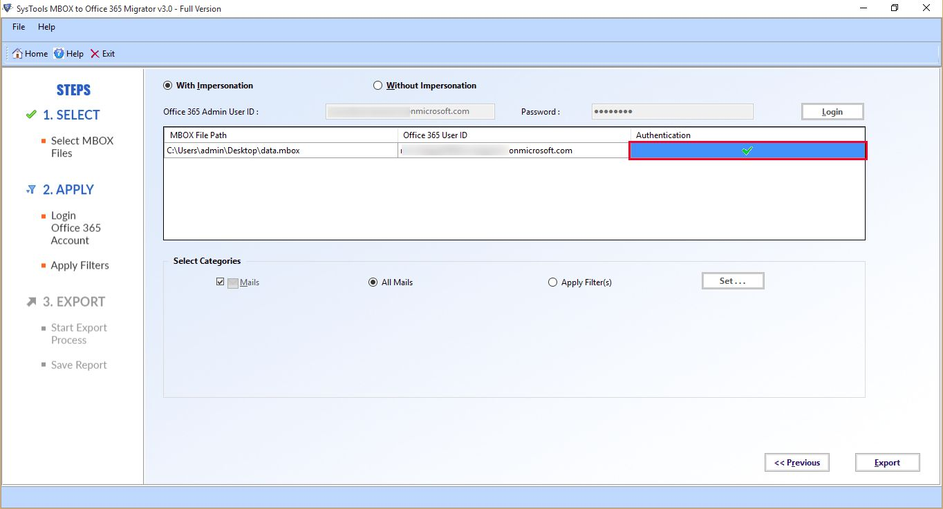 Import Gmail Backup To Office 365 User Account – Migrate