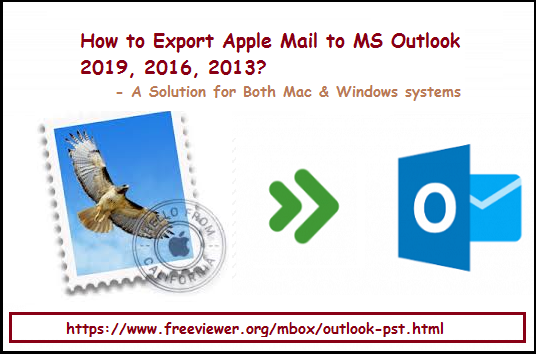 export apple mail to outlook 2019