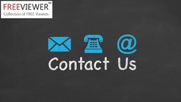 FreeViewer Contact Us