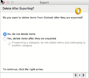 export features