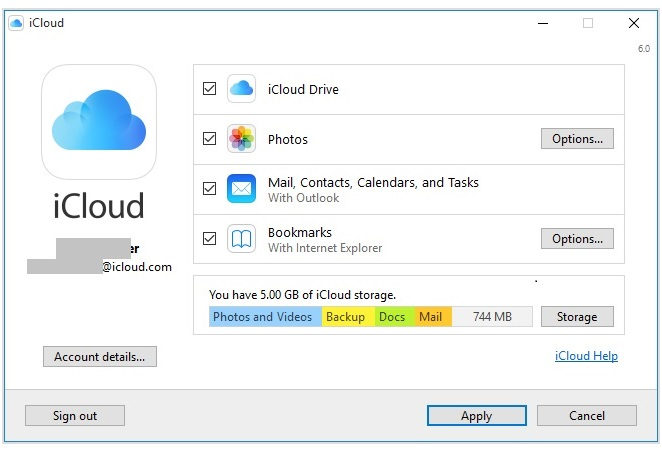 download windows icloud