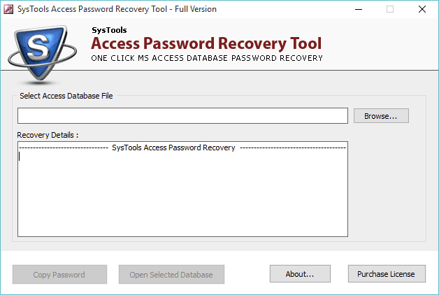 download mdb password recovery tool