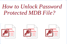 unlock password protected mdb file