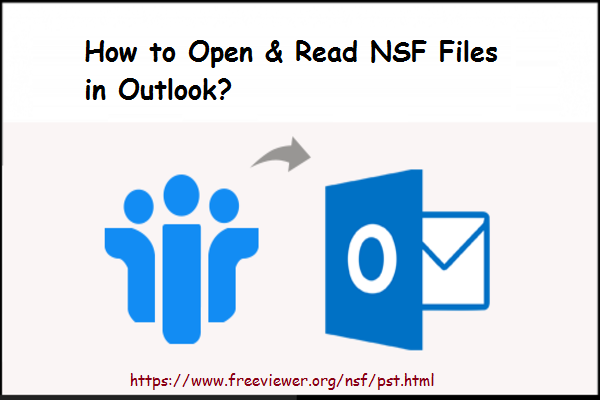 how to read nsf file in outlook