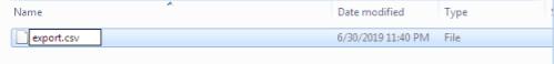 rename the file to set .csv extension