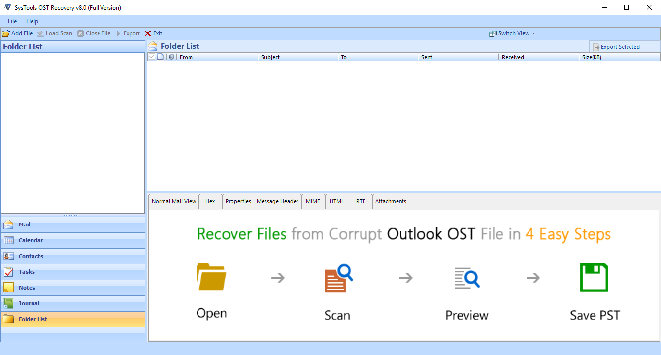 Inbox Repair Tool Does Not Recognize the File .ost - Software