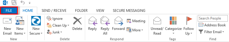 importing an Excel file into Outlook Distribution List