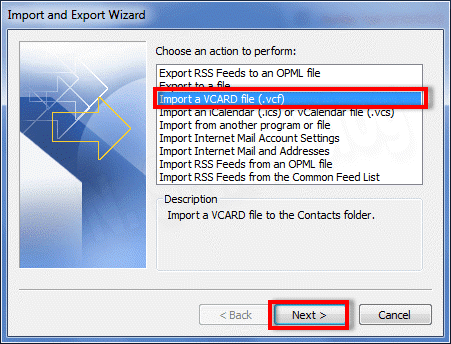 how to import Excel spreadsheet into Outlook Distribution List