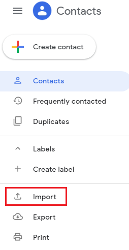 Import Excel Contacts into Google Contacts