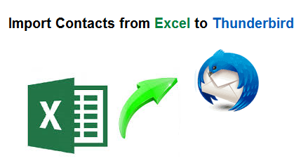 Import Contacts from Excel to Thunderbird