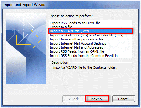 Error Message When Trying to Import CSV to Outlook