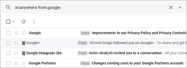 Recover Permanently Deleted Gmail Emails