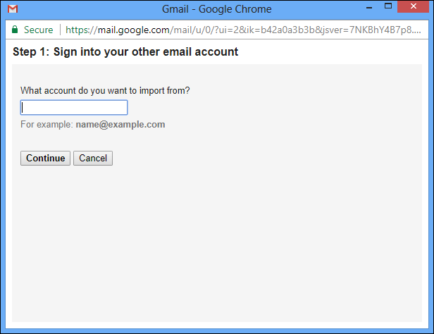 Continue to Transfer Hotmail Emails to Gmail