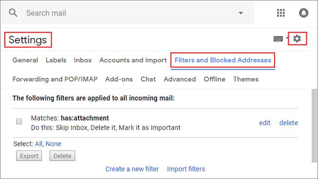 Skip Inbox