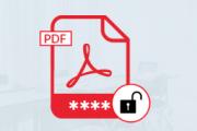 unlock a protected pdf file