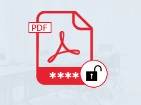 unlock a protected pdf file