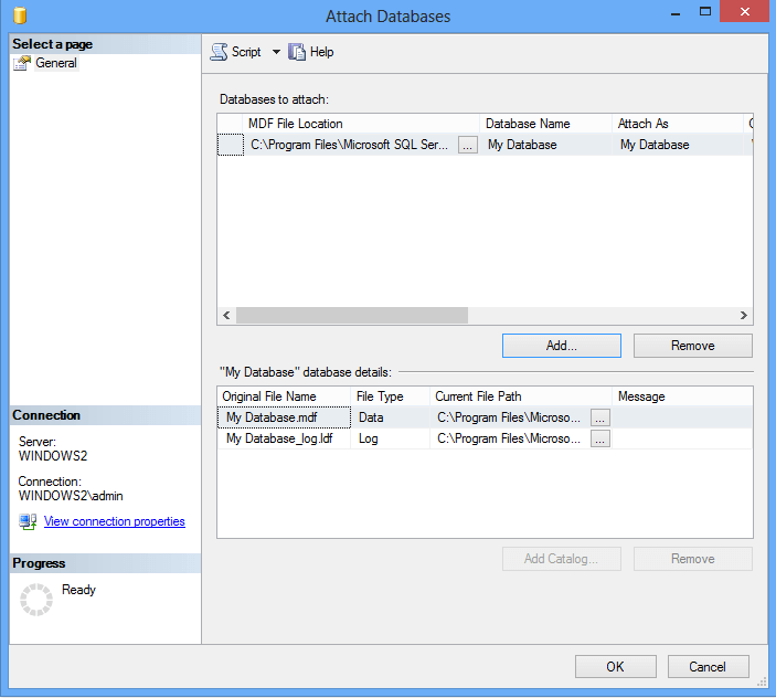 Extract Data From MDF File