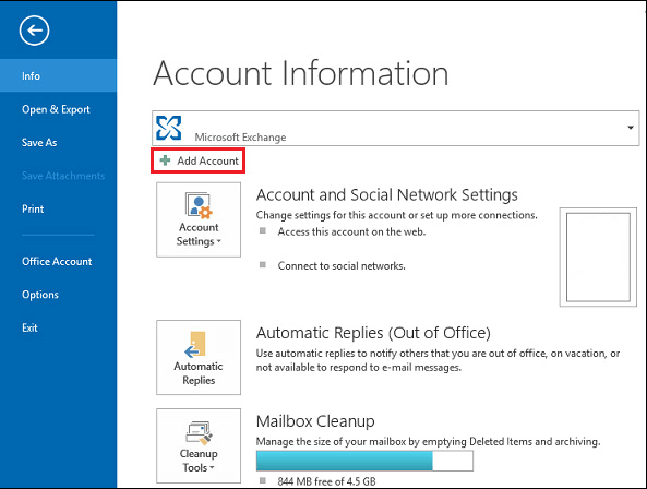Manage Multiple Mailboxes in Outlook