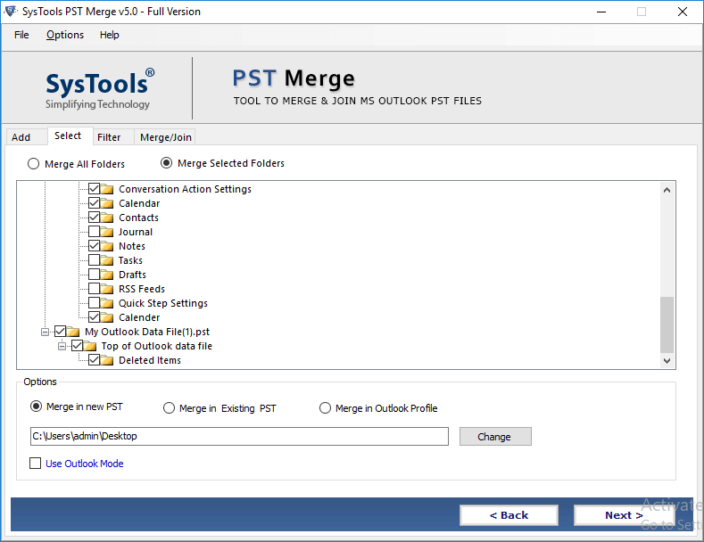 Merge Multiple Archive PST Files