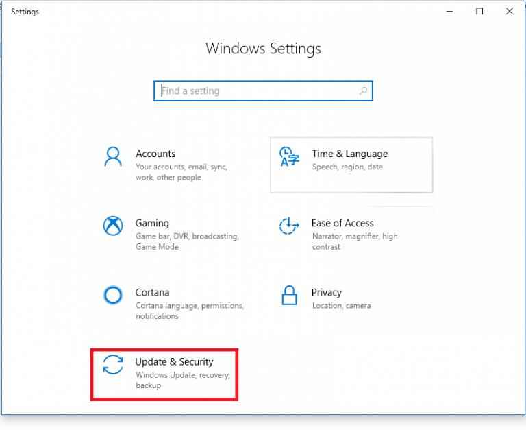 Settings to Fix Windows Update Error 0x8024002e