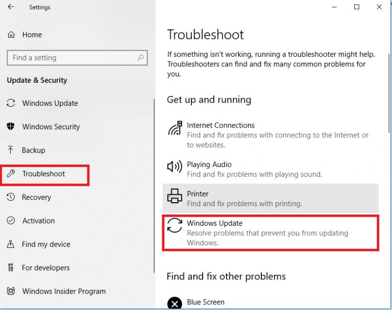 Troubleshoot Windows Update Error 0x8024002e