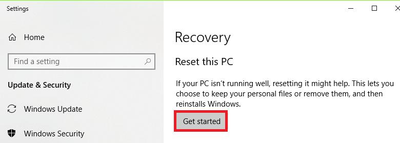Get Started Windows Update Error 0x8024002e Solution