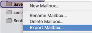 mac export mailbox