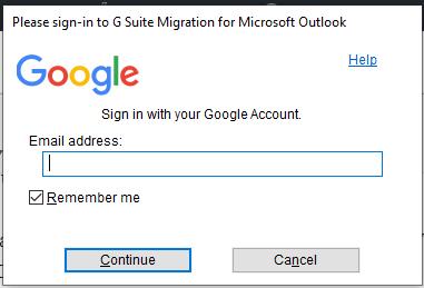 enter gmail credentials