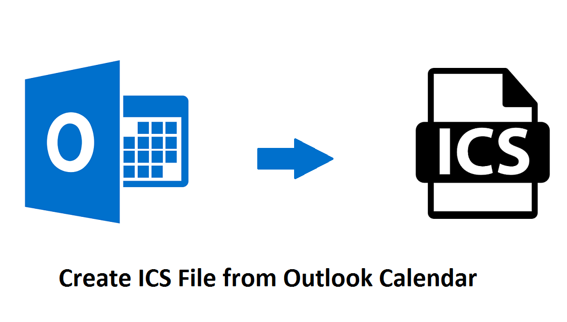 Create ICS File from Outlook Calendar