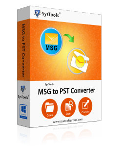 MSG File to PST Converter