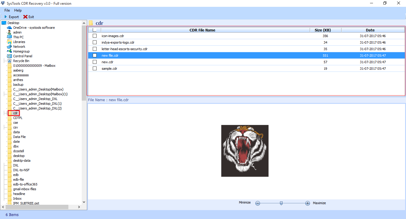 FreeViewer CDR Recovery Tool